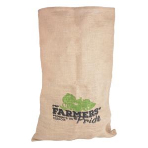 jute zak voor de aardappel en uien oogst kopen bij moestuinland