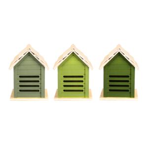 Lieveheersbeestje huis, Groentinten