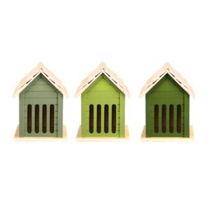 Vlinderhuis vlinders Esschert Design groentinten | Moestuinland