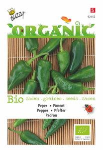 Biologische peper zaden kopen Padron | Moestuinland