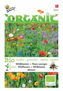 Biologisch Wildbloemen mengsel zaden kopen   Moestuinland