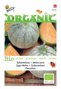 Biologische suikermeloen meloen zaden kopen, Cantaloupe Charentais | Moestuinland
