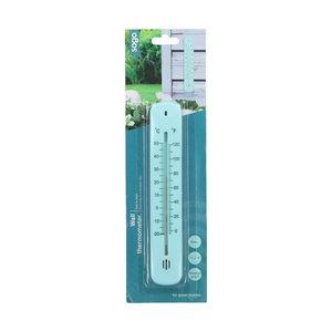 Thermometer kopen, Muurthermometer SOGO blauw   Moestuinland