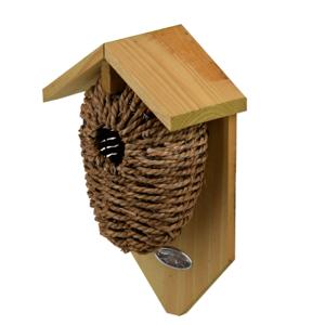 Zeegras nestbuidel vogelhuisje kopen Winterkoning | Moestuinland