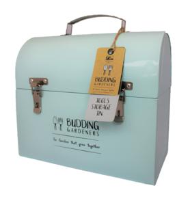 Gereedschapskist kopen, Moestuinland blauw opslagbox box kist   Moestuinland