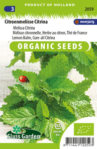 Zaden voor citroenmelisse citrina - Moestuinland