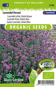 Zaden voor biologische Lavendel Verani - Moestuinland