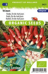 Zaden kopen voor biologische radijsjes - Moestuinland