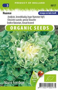 zaden voor andijvie breedblad nuance - Moestuinland