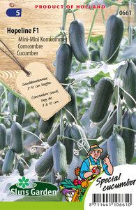 Mini komkommer, hopeline f1 | Moestuinland