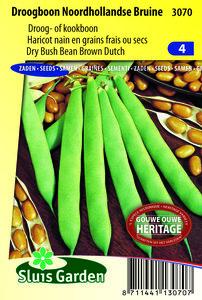 droogboon zaden kopen | Noordhollandse bruine boon zaden | Moestuinland