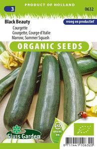 courgette zaden kopen biologische zaden | Moestuinland Black Beauty