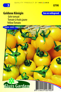 Gele tomaat zaden kopen | Goldene koningin | Moestuinland