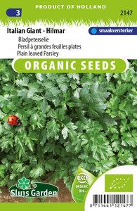 Biologische bladpeterselie zaden kopen, Italian Giant Hilmar   Moestuinland