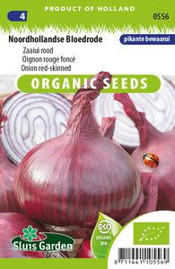 biologische rode ui zaden kopen, rode zaaiui noordhollandse bloedrode | Moestuinland