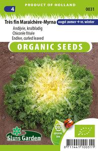 Biologische krul andijvie zaden kopen, Très fin Maraîchère Myrna | Moestuinland