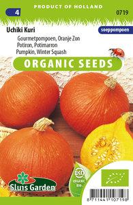 biologische gourmetpompoen zaden kopen - moestuinland