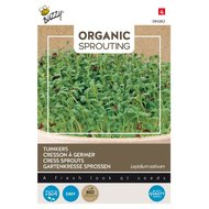 Tuinkers zaden kopen, Organic Sprouting (BIO) | Moestuinland