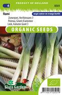 Biologische prei zaden kopen | Moestuinland