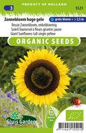 Zaden voor biologische zonnebloemen - Moestuinland