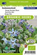 biologische zaden kopen voor komkommerkruid | moestuinland