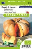 Biologische pompoen zaden kopen, Muskaatpompoen | Moestuinland