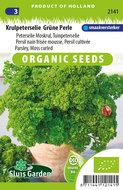 biologische peterselie zaden kopen, grune perle - moestuinland
