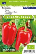 Biologische paprika zaden kopen, Jubilandska | Moestuinland