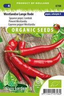 Biologische peper zaden kopen, Spaanse Peper, Westlandse Lange | Moestuinland