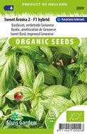 Biologische basilicum zaden kopen, Sweet Aroma 2 F1 | Moestuinland