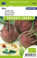 Biologische koolrabi zaden kopen, violet blaro zaden | Moestuinland